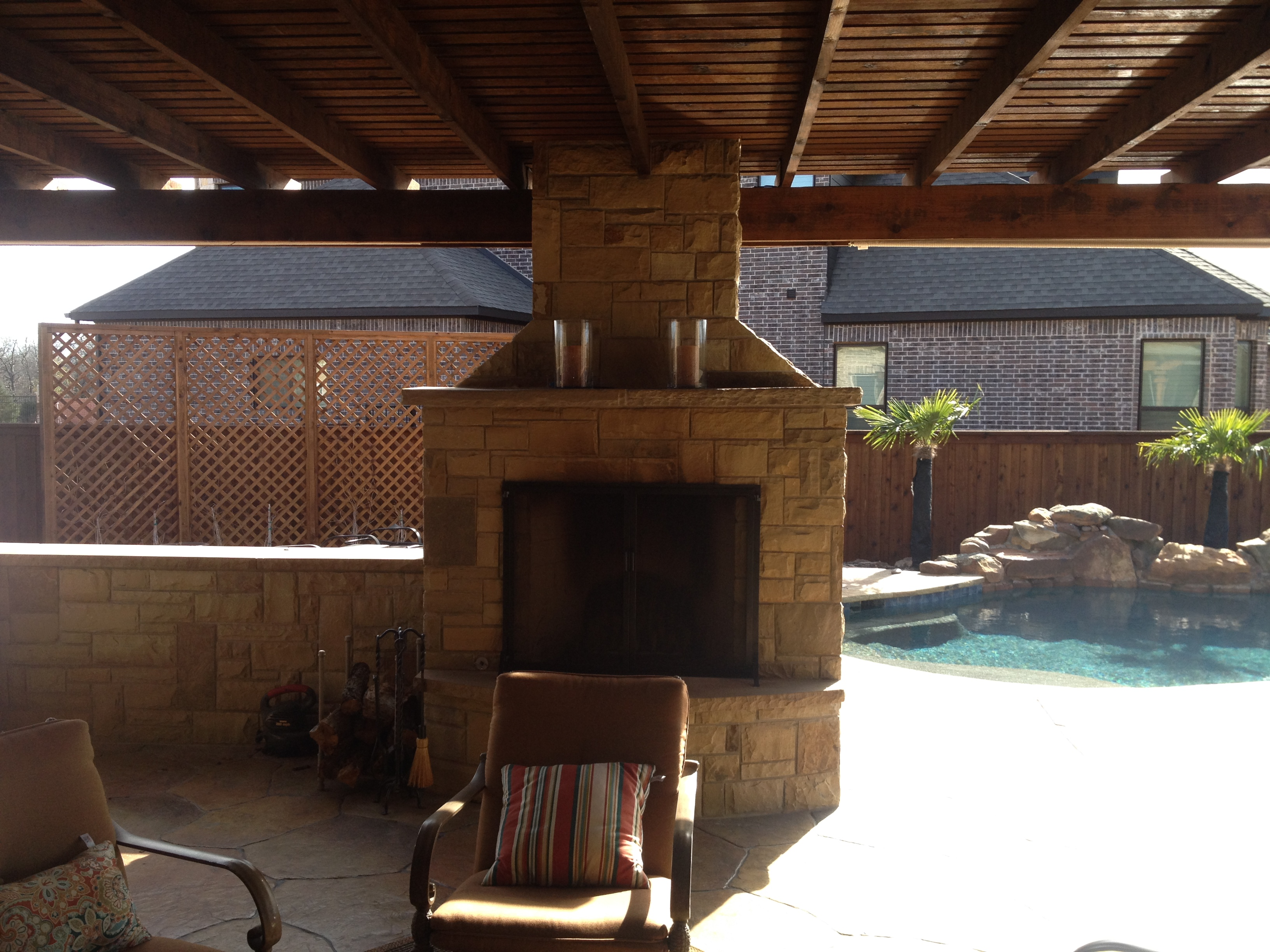 Outdoor Fireplaces Clarity Pools 469 323 6232 Serving Collin County